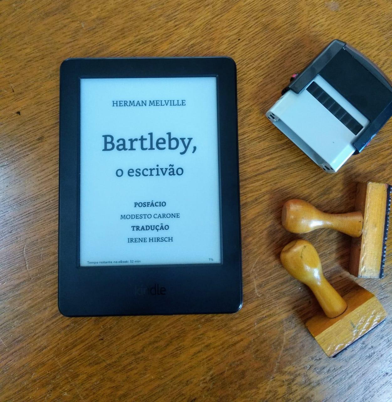 [RESENHA] BARTLEBY, O ESCRIVÃO: UMA HISTÓRIA DE WALL STREET, DE HERMAN MELVILLE
